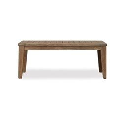 Lloyd Flanders Wildwood Rectangular Tapered Leg Cocktail Table - 135044