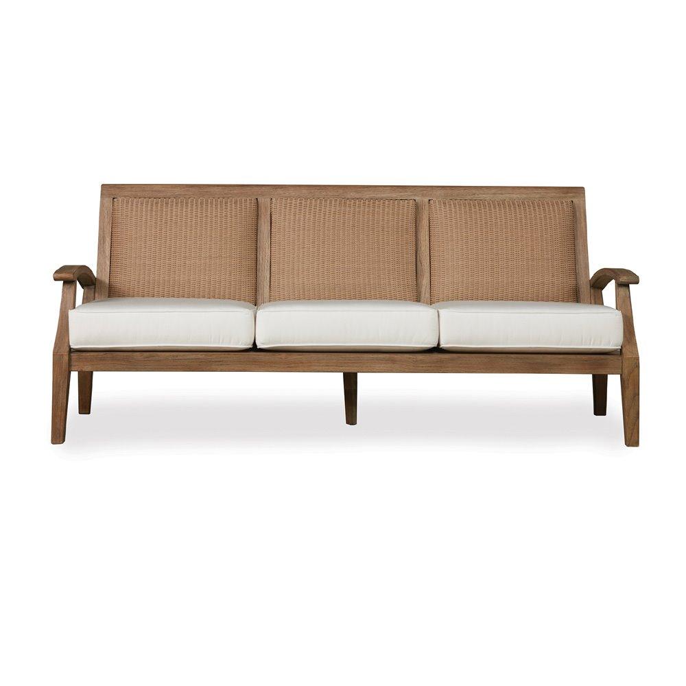 Lloyd Flanders Wildwood Patio Sofa And Spring Rocker Lounge Chair Set Lf Wildwood Set2