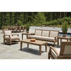 Lloyd Flanders Wildwood Patio Sofa and Spring Rocker Lounge Chair Set - LF-WILDWOOD-SET2
