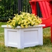 Rust fade proof planter