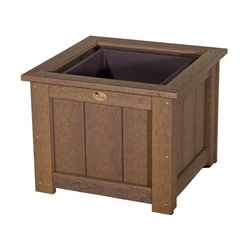 "LuxCraft 24"" Square Planter - P24SP"