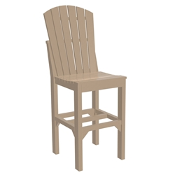 LuxCraft Adirondack Bar Side Chair - ASCB