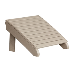LuxCraft Deluxe Adirondack Footrest - PDAF