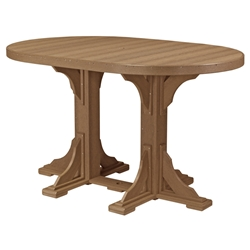 LuxCraft 4x6 Oval Bar Table - P46OTB