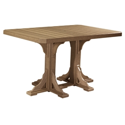 LuxCraft 4x6 Rectangular Bar Table - P46RTB