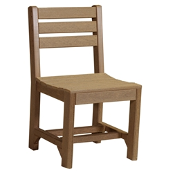 LuxCraft Island Dining Side Chair - ISCD