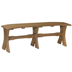 "LuxCraft 52"" Table Bench - P52TB"
