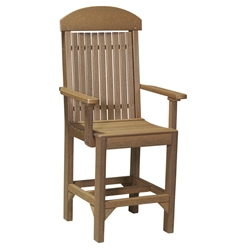 LuxCraft Captain Counter Chair - PCCC