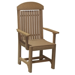 LuxCraft Captain Dining Chair - PCCD