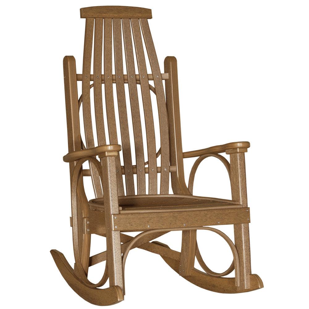 Outstanding Luxcraft Grandpas Rocker Theyellowbook Wood Chair Design Ideas Theyellowbookinfo