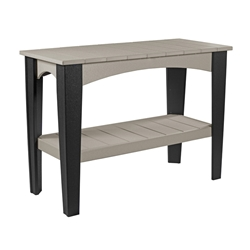 LuxCraft Island Buffet Counter Height Table - IBT
