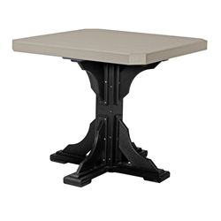 "LuxCraft 41"" Square Counter Height Table - P41STC"