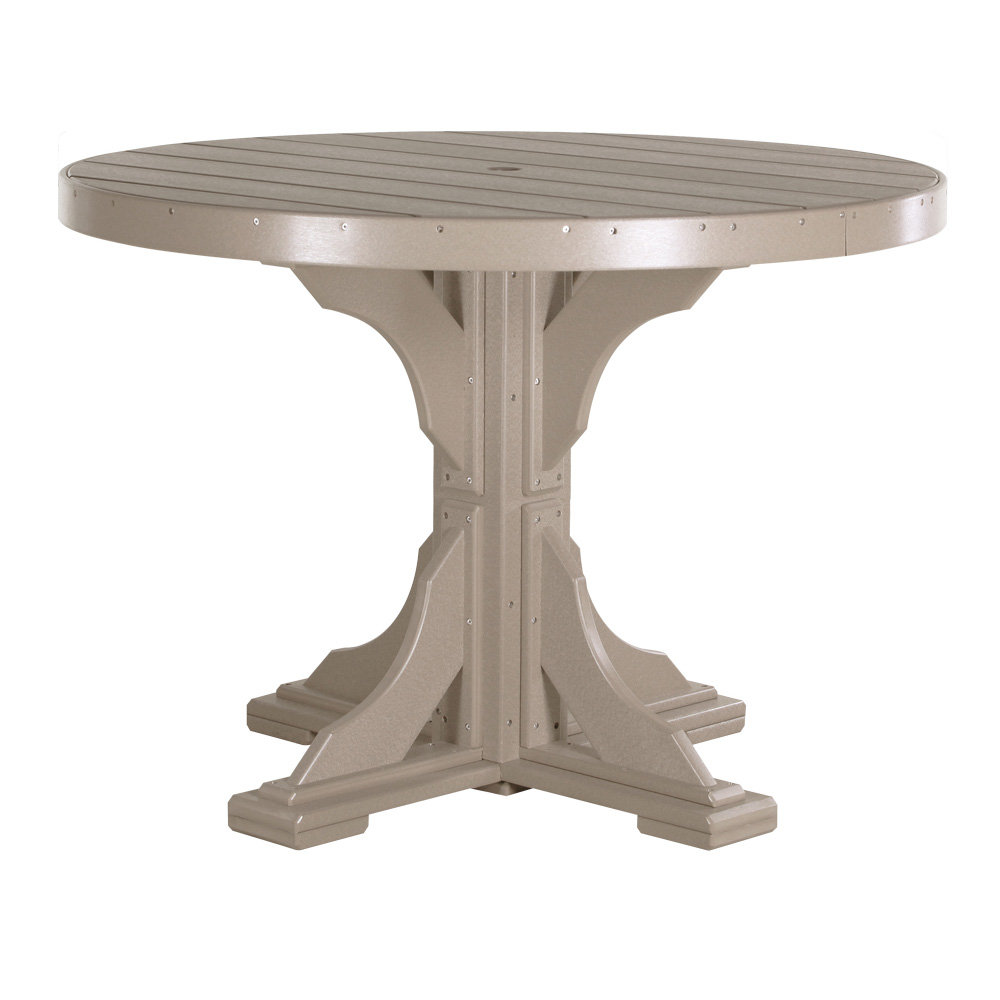 Luxcraft 48 Round Dining Table P4rtd