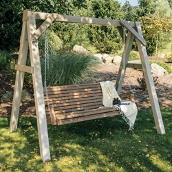 LuxCraft Plain Poly Swing and Stand Set - LC-PLAIN-SET2