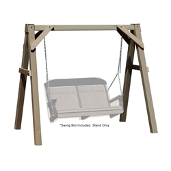 LuxCraft A-Frame Vinyl Swing Stand - Clay - VAFC