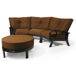 Mallin Eclipse Crescent Sectional Sofa Set - ML-ECLIPSE-SET1