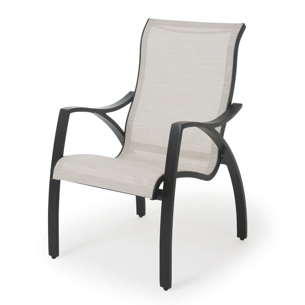 Mallin Heritage Sling Modern Patio Dining Set for 6 | ML ...