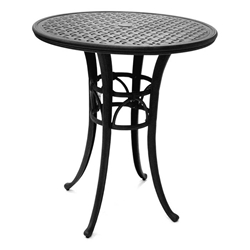 "Mallin Napa 36"" Round Counter Height Umbrella Table - 9-D036U"