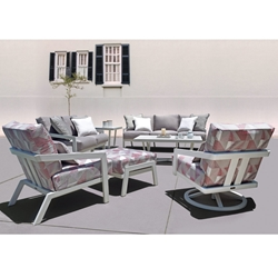 Mallin Oslo Modern Outdoor Furniture Set - ML-OSLO-SET1