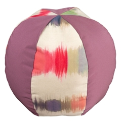 Mallin Large Beach Ball Throw Pillow with Alternating Fabrics - 33WPBLGA