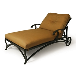 Mallin Volare Cushion Chaise Lounge and a Half  - VO-825