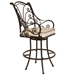OW Lee Ashbury Swivel Counter Stool with Arms - 1584-SCS