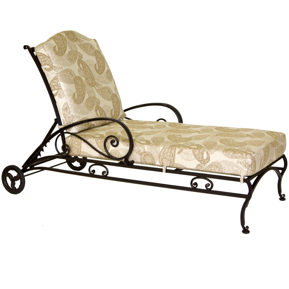 OW Lee Ashbury Adjustable Chaise Lounge - 1589-CH