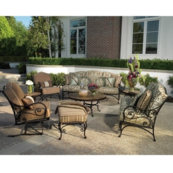 OW Lee Ashbury 8 Piece Patio Set - OWSET-8ASH