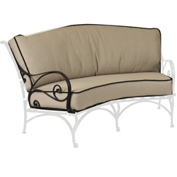 OW Lee Ashbury Crescent Love Seat Cushions - OW85-2S