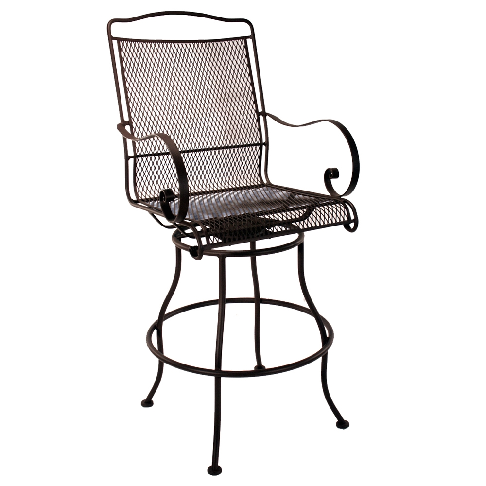 OW Lee Avalon Swivel Bar Stool - 4374-SBS