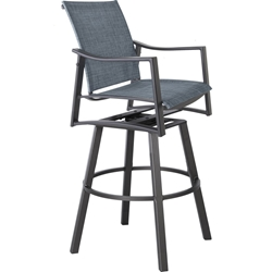 OW Lee Avana Sling Swivel Bar Stool - 65192-SBS