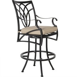 OW Lee Belle Vie Swivel Bar Stool - 6353-SBS
