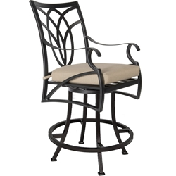 OW Lee Belle Vie Swivel Counter Stool - 6353-SCS