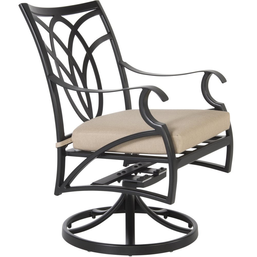 OW Lee Belle Vie Swivel Rocker Dining Arm Chair - 6353-SR