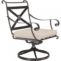 OW Lee Bellini Swivel Rocker Dining Arm Chair - 4153-SR