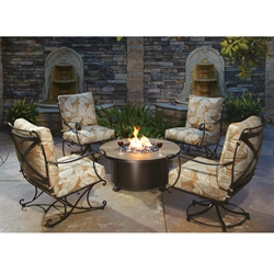 OW Lee Bellini Outdoor Fire Pit Set - OW-BELLINI-SET1