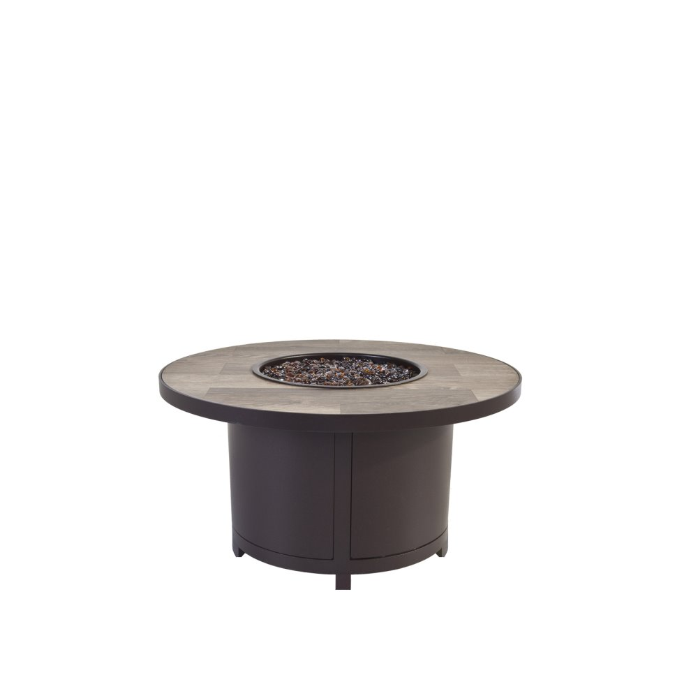 "OW Lee Capri 36""Rd. Occasional Height Fire Table - 5112-36RDO"