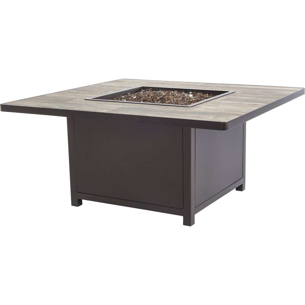 OW Lee Capri 42sq. Occasional Height Fire Table - 5112-42SQO