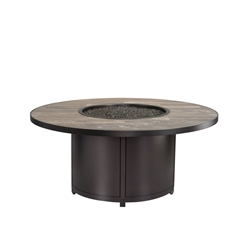 "OW Lee Elba 54"" Round Chat Height Fire Table - 5122-54RDC"