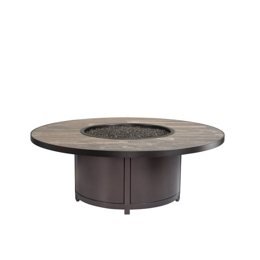 "OW Lee Lee Capri 54""Rd. Occasional Height Fire Table - 5112-54RDO"