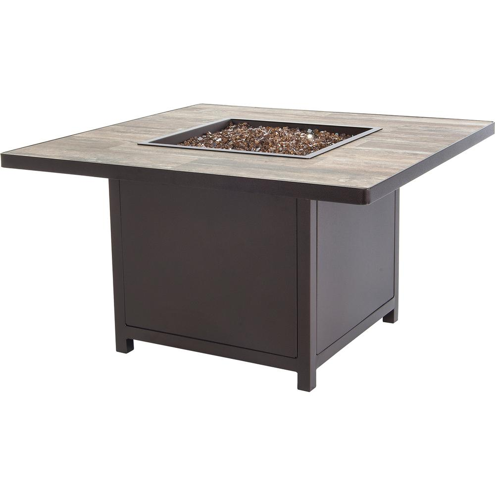 OW Lee Capri Chat Height 42 Square Fire Table - 5112-42SQC