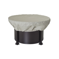 OW Lee 42 inch round Hearth Top Fabric Cover - 51-23CV
