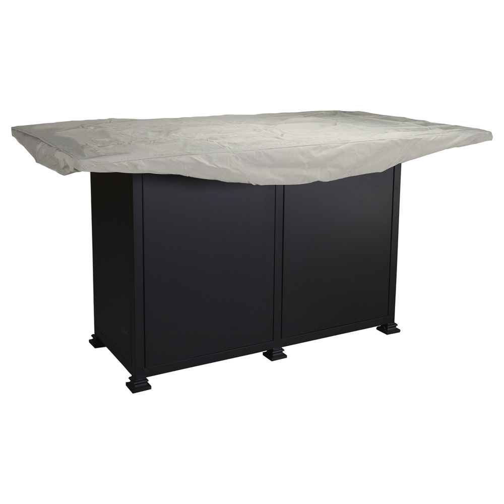 Ow Lee Santorini 42 Quot X 72 Quot Counter Height Fire Pit Table