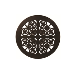 OW Lee 27 inch round Hacienda Cast Lazy Susan - A-27B