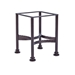 Classico Wrought Iron Sectional with Santorini Fire Table - OW-CLASSICOW-SET5
