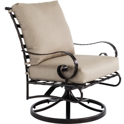 OW Lee Classico-W Mini Swivel Rocker Lounge Chair - 9142-MSR