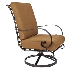 OW Lee Classico-W Hi-Back Swivel Rocker Lounge Chair - 937-SRW