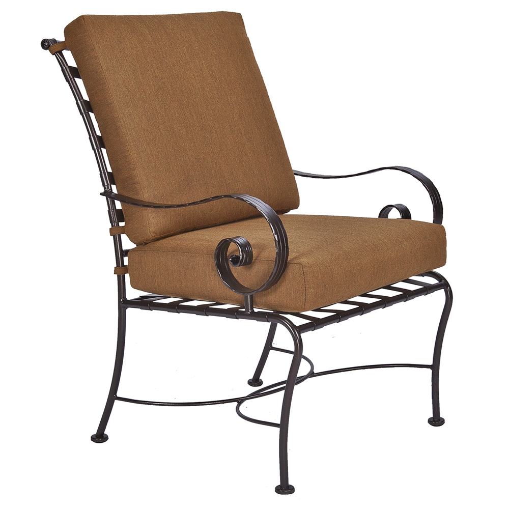 OW Lee Classico-W Club Dining Arm Chair - 942-AW