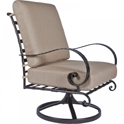 OW Lee Classico-W Swivel Rocker Lounge Chair - 956-SRW