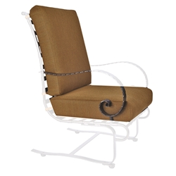 OW Lee Classico-W Hi-Back Spring Base Lounge Chair Cushions - OW37-SBW
